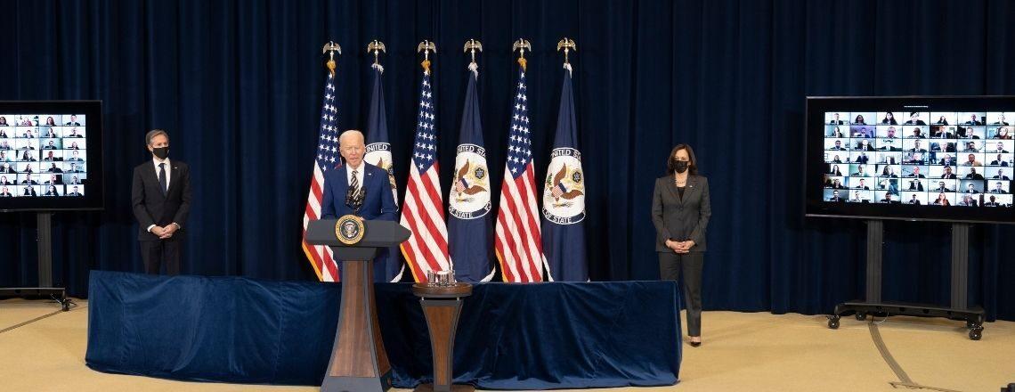 Речь президента Байдена о месте Америки в мире