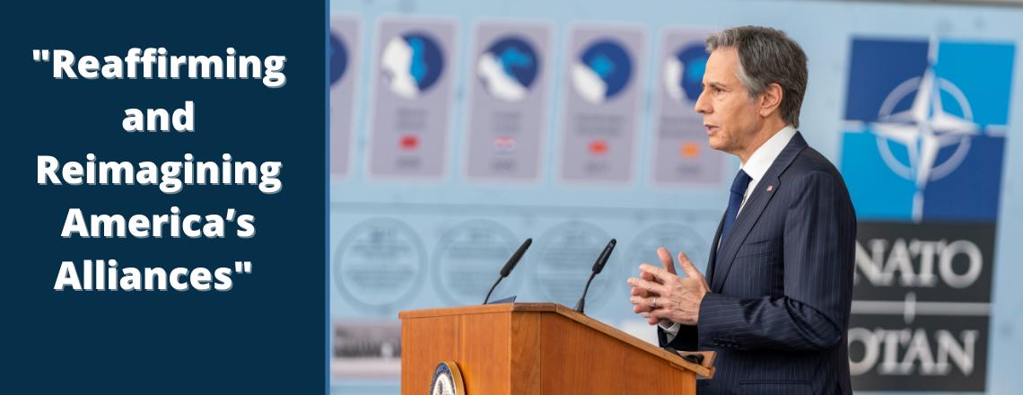 Speech by Secretary Blinken at NATO Headquarters