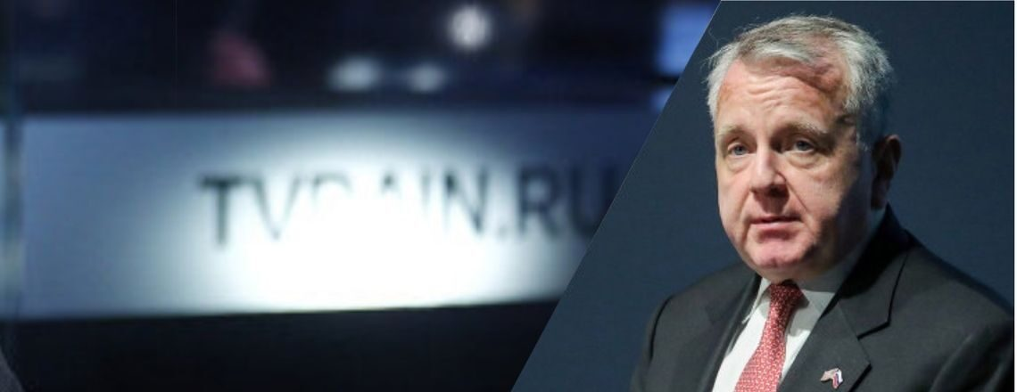 Ambassador Sullivan's Interview with TV Dozhd (TV Rain)