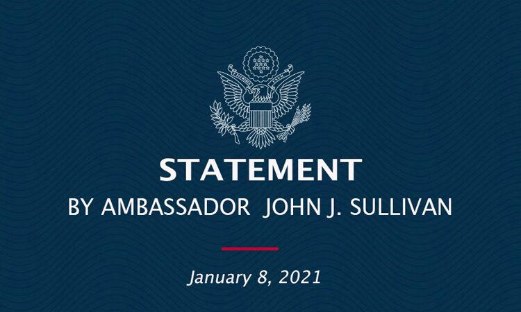 Statement by Ambassador John J. Sullivan