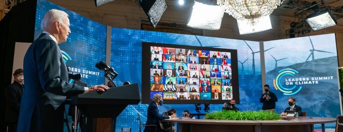 Выступление Президента Байдена на виртуальном Саммите лидеров по вопросам климата