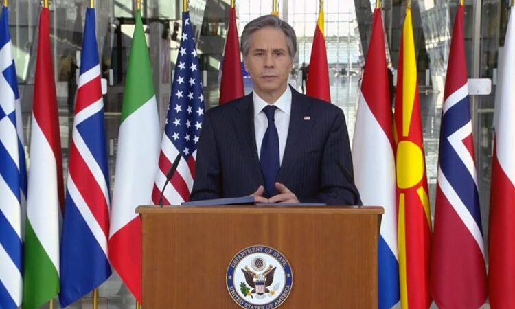 """Речь государственного секретаря США Энтони Блинкена """"Подтвердить приверженность альянсам Америки и обновить их"""""""