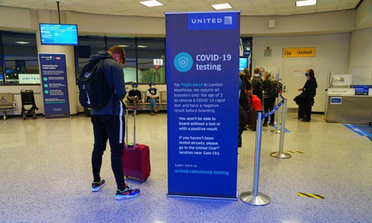 С 26 января для поездки в США необходим отрицательный результат теста на COVID-19