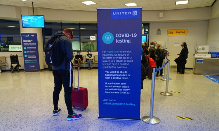 Negative COVID-19 Test Required for Travel to the United States Beginning January 26