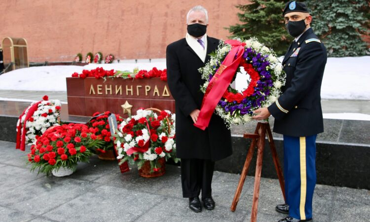 U.S. Embassy in Russia Honors the Victims of the Siege of Leningrad