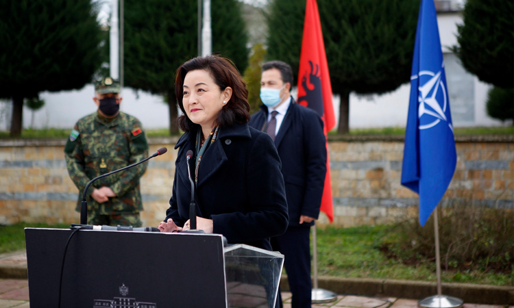 Remarks by Ambassador Kim at the Ceremony for the Donation of Flood Equipment to Albania's Directorate of Civil Emergencies