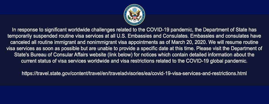 Consular Section Operating Status