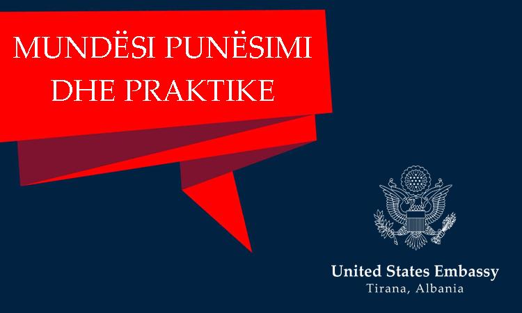 Mundësi Punësimi dhe Praktike në Ambasadë | Ambasada e SHBA