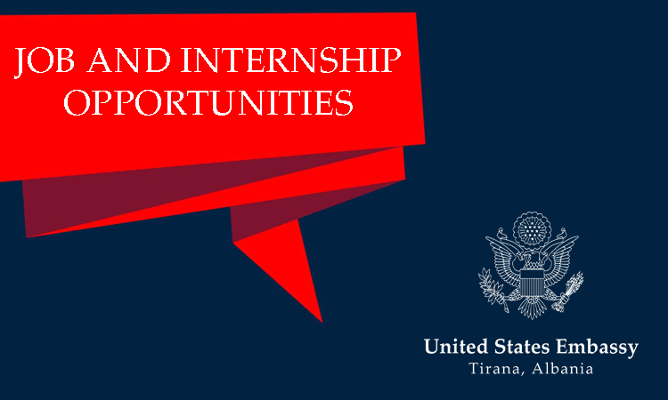 Jobs and Internships at the Embassy   U S  Embassy in Albania