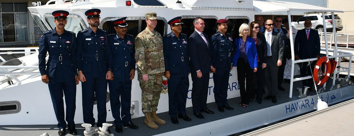 Bahrain Coast Guard Receives New US Coastal Patrol Boats