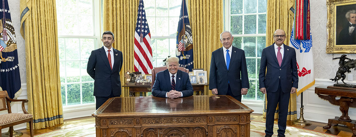 President Donald J. Trump is Promoting Peace and Stability in the Middle East