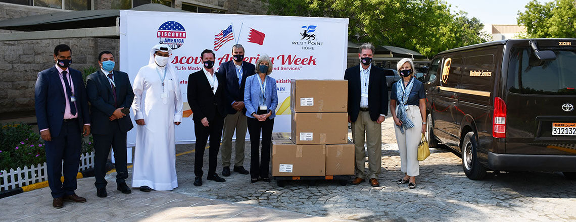 U.S. Embassy Chargé d'Affaires Showcases U.S. Manufacturing Technology with WestPoint Home