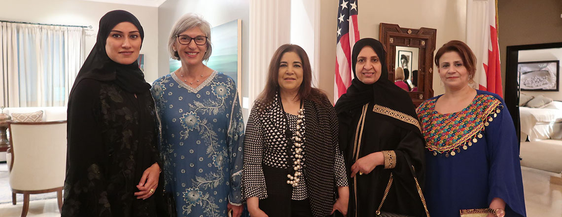 Wife of American Ambassador Hosts Ladies' Ramadan Majlis