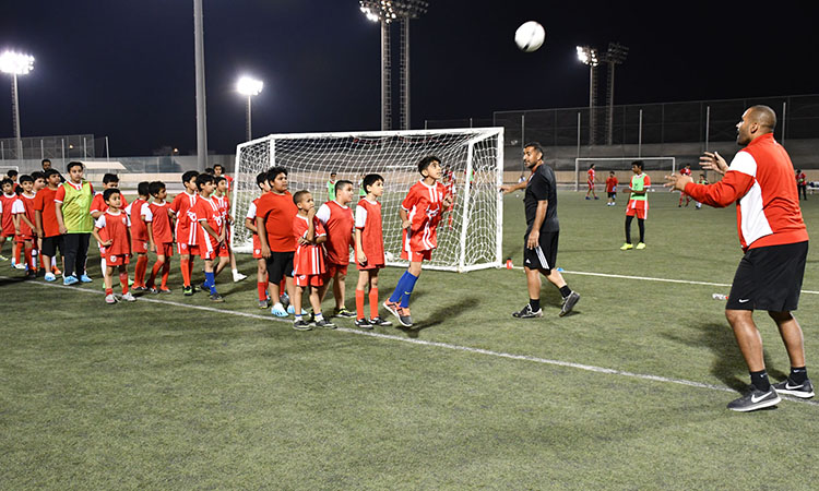 American Soccer Coaches Lead Football Tournament