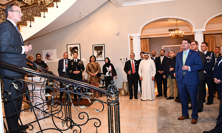 U.S. Ambassador Hosts Reception in Honor of BIDEC 2019 Participants
