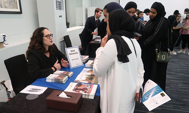 Linden Tours Hosts a University Fair in Bahrain