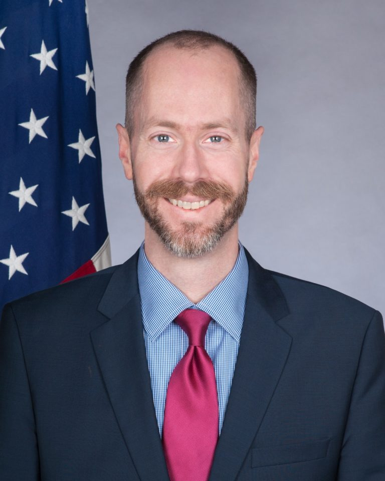 Photo of Deputy Chief of Mission J. Alexander Hamilton
