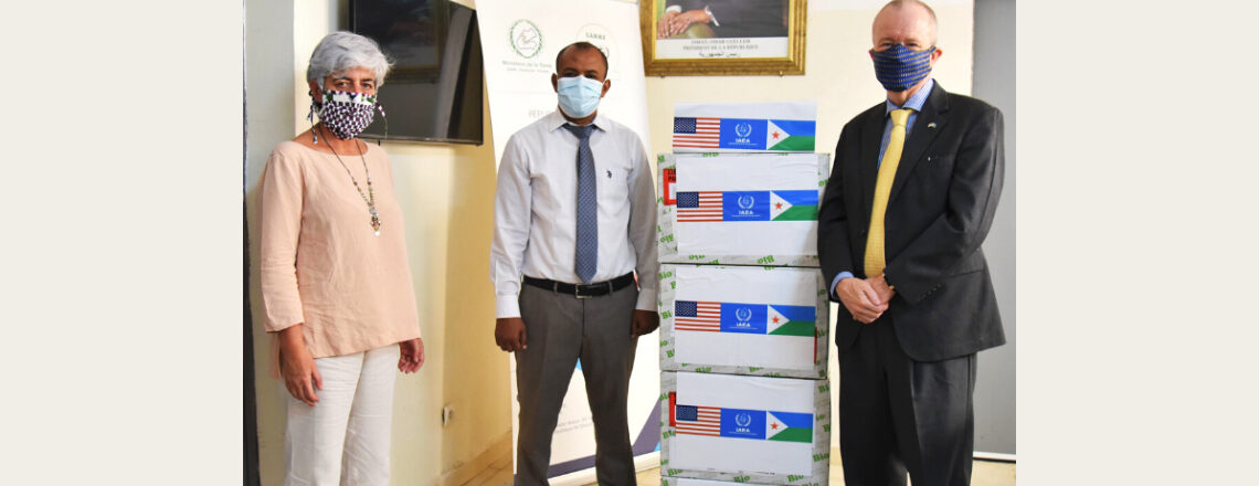 United States Supports COVID-19 Detection and Prevention in Djibouti