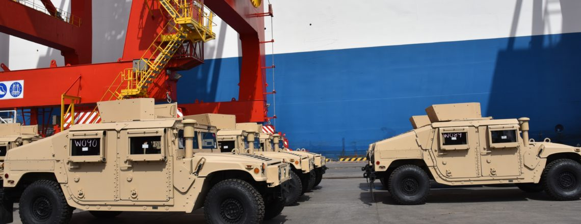 United States Provides 54 New Humvees to Djibouti