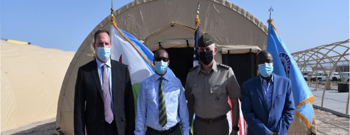 U.S. Army Gen. Stephen Townsend Visits Djibouti.