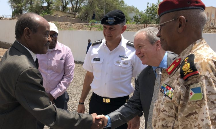 New commander of U.S. Africa Command (AFRICOM) General Stephen J. Townsend visits Djibouti