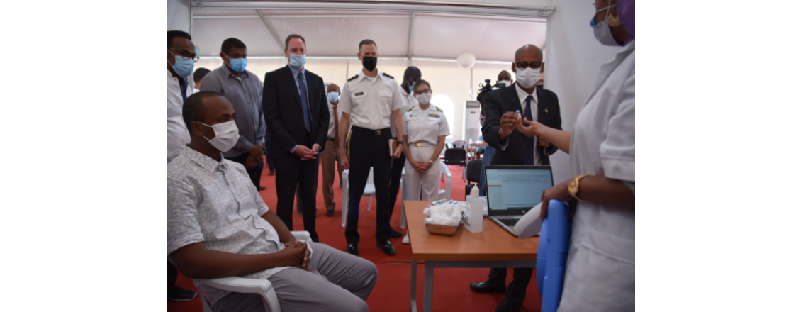 United States Provides Additional $1.4 Million for Urgent COVID-19 Assistance in Djibouti.