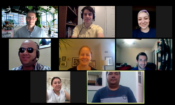 CAJIR Virtual Exchange Group Photo