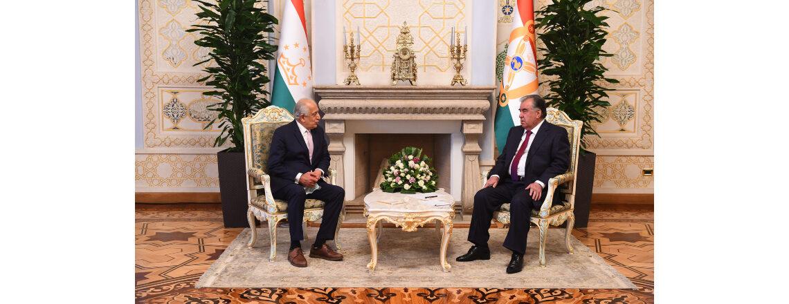 Special Representative for Afghanistan Reconciliation Zalmay Khalilzad Visits Tajikistan