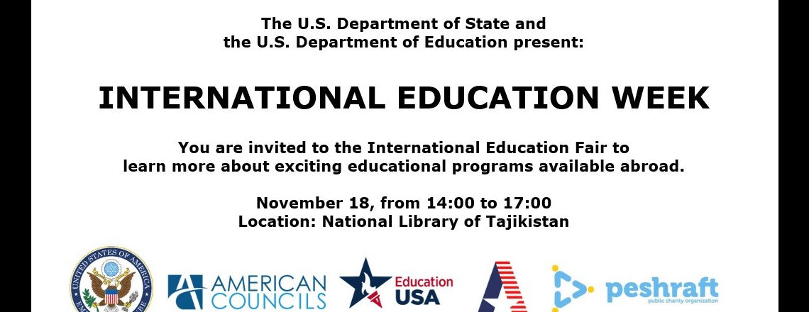 U.S. Embassy Supports International Education Week