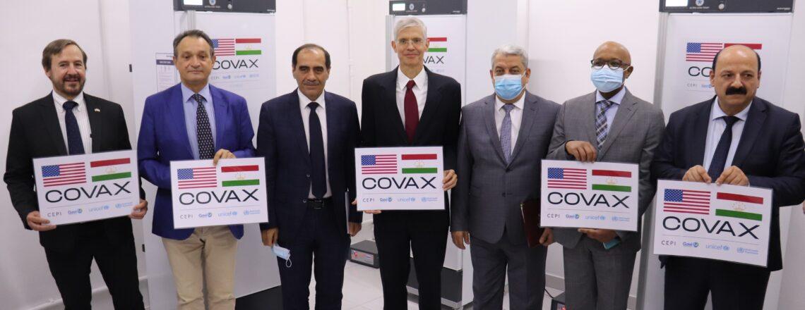 U.S. Government Provides Pfizer COVID-19 Vaccines to Tajikistan