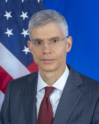 Photo of Ambassador John Mark Pommersheim