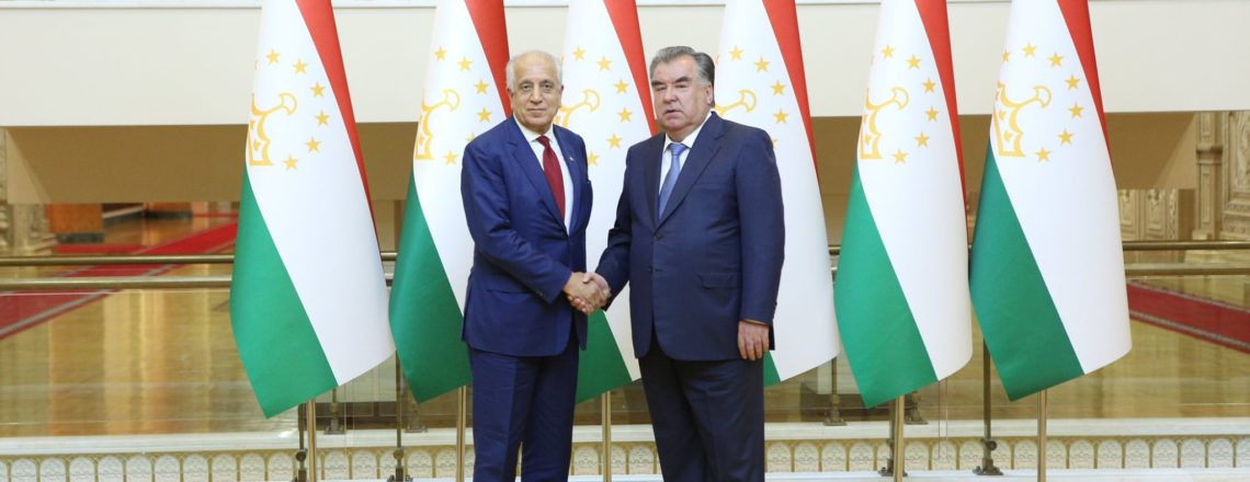 Специальный представитель по примирению в Афганистане Залмай Халилзад посещает Таджикистан
