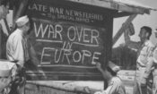 VE Day War Over in Europe-750