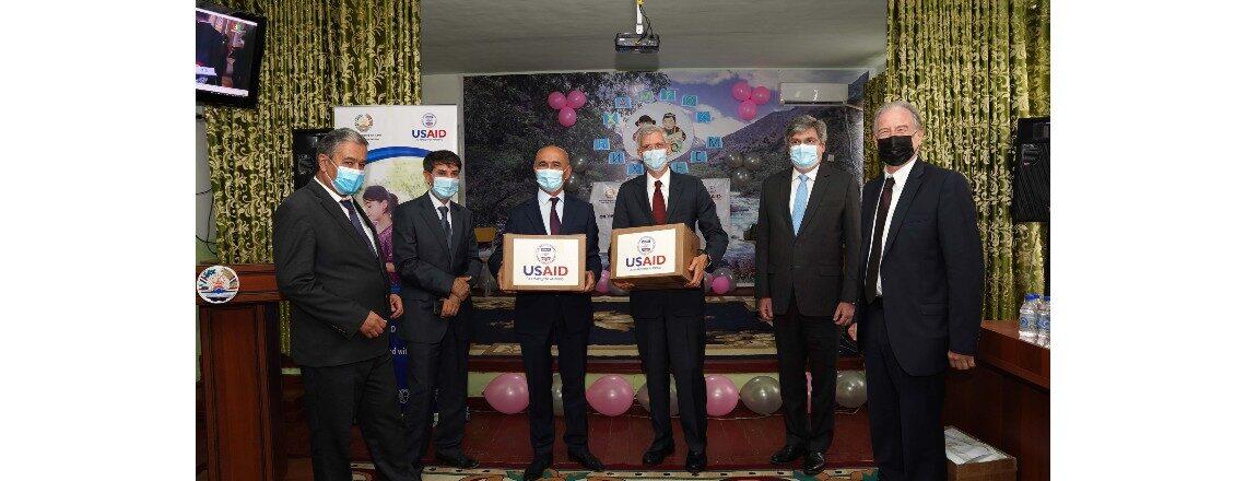 USAID Donates Braille Books to Visual Impaired Children in Tajikistan