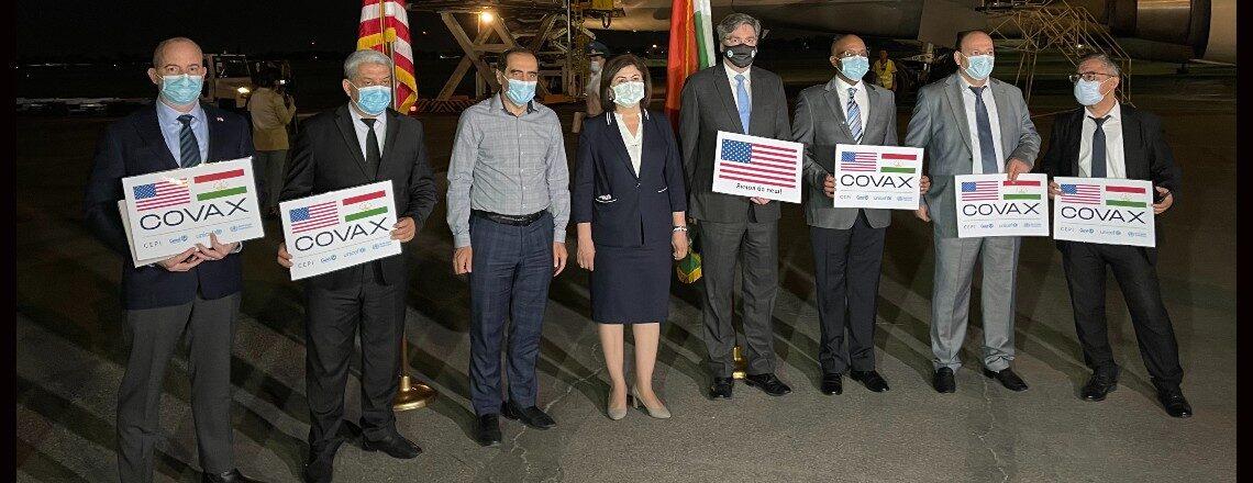 U.S. Government Provides 1.5 Million Doses of Moderna COVID-19 Vaccine to Tajikistan