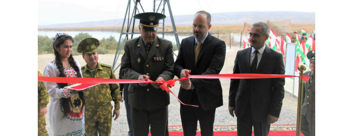 U.S. Embassy Constructs Outpost for Tajikistan's Border Forces on the Tajik-Afghan Border