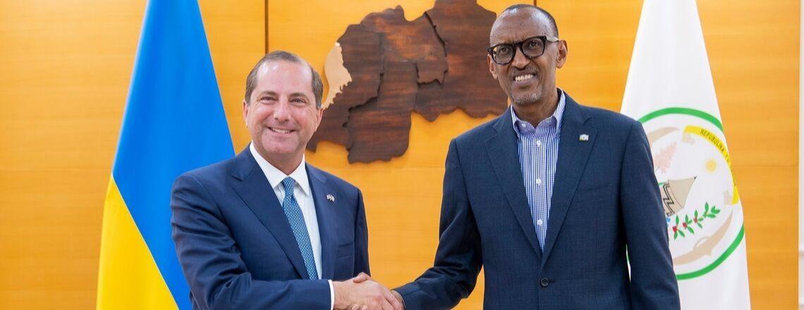 Secretary of Health and Human Services Visits Rwanda