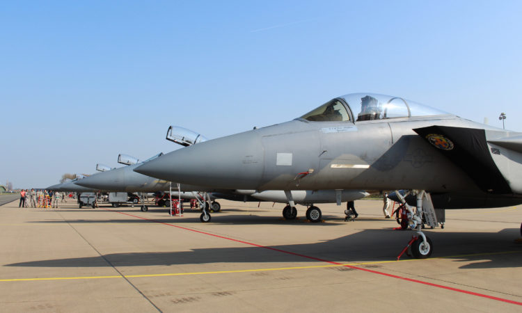 Leeuwarden Air Base in the Netherlands hosted the Louisiana Air National Guard-159th Fighter Wing for the Frisian Flag 2017 exercise.