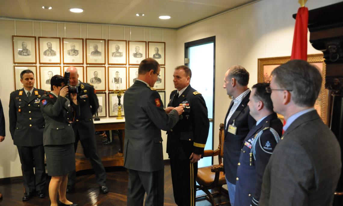 Dutch Military Awards U S  Army Europe Commander Meritorious