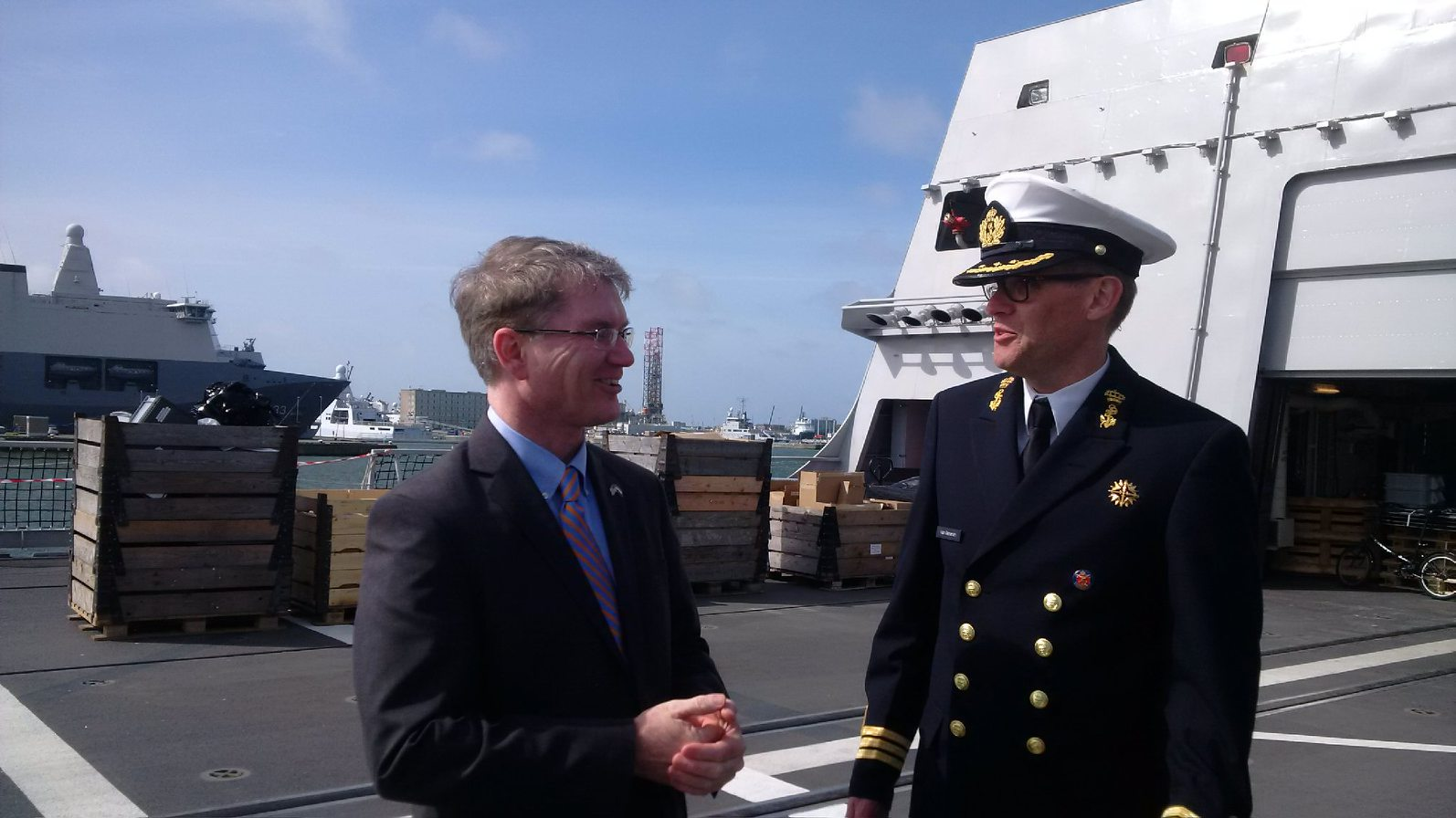 Royal Netherlands Navy Welcomes U S Embassy Team To Den Helder U S Embassy And Consulate In The Netherlands