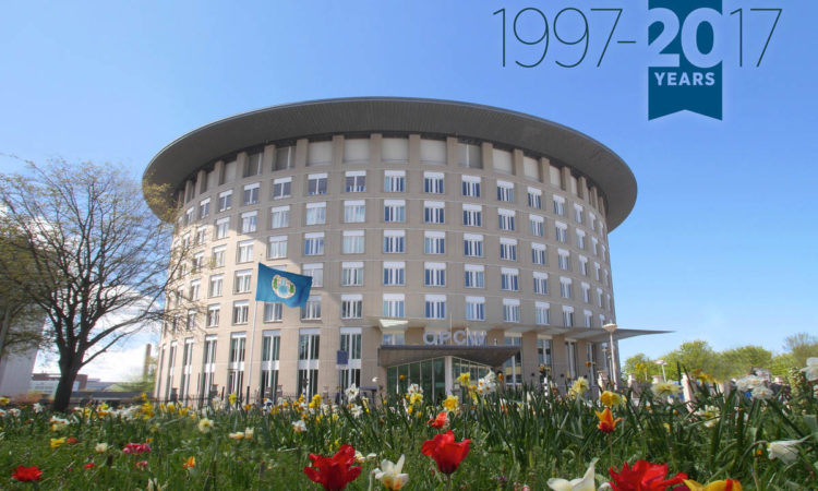20th Anniversary of the Chemical Weapons Convention