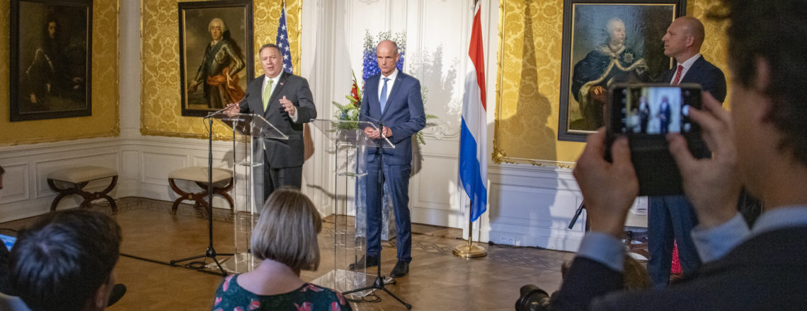 Secretary of State Pompeo and Dutch Foreign Minister Blok at a Press Availability