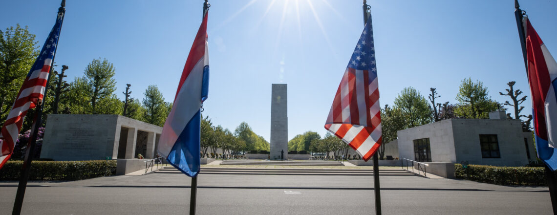 Memorial Day Commemoration 2021 at the Netherlands American Cemetery in Margraten