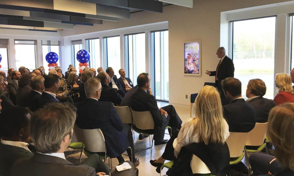 CDA Business Club visits the U.S. Embassy in Wassenaar