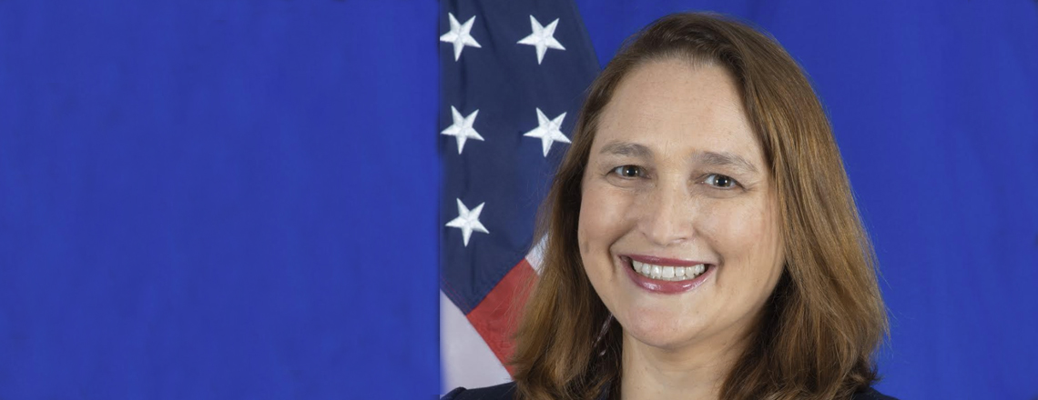 Marja Verloop  – U.S. Deputy Chief of Mission to the Netherlands