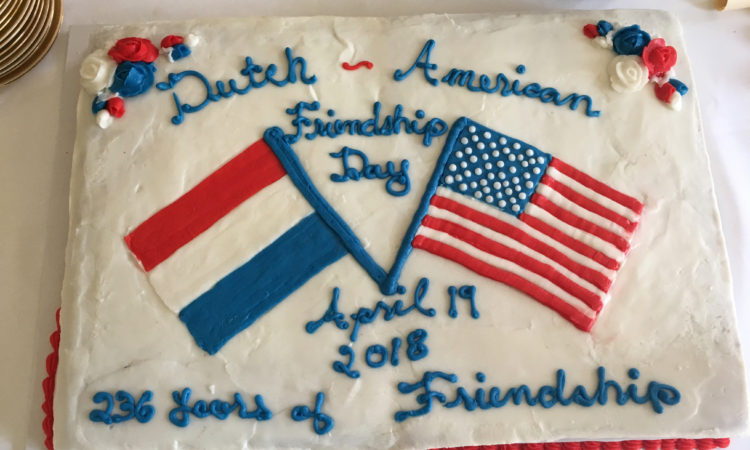 Dutch-American Friendship Day 2018 cake