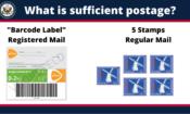 Postage Header