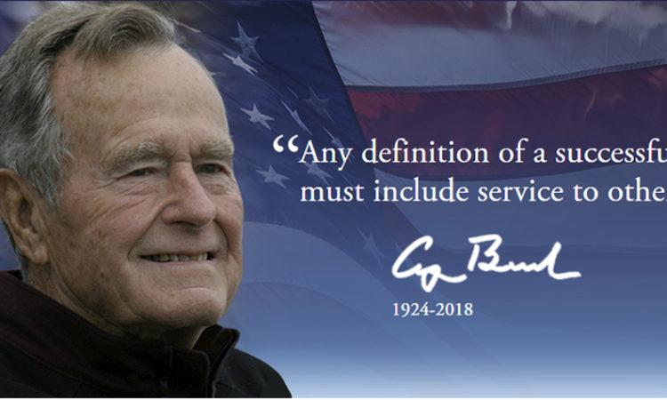 George H.W. Bush 1924-2018