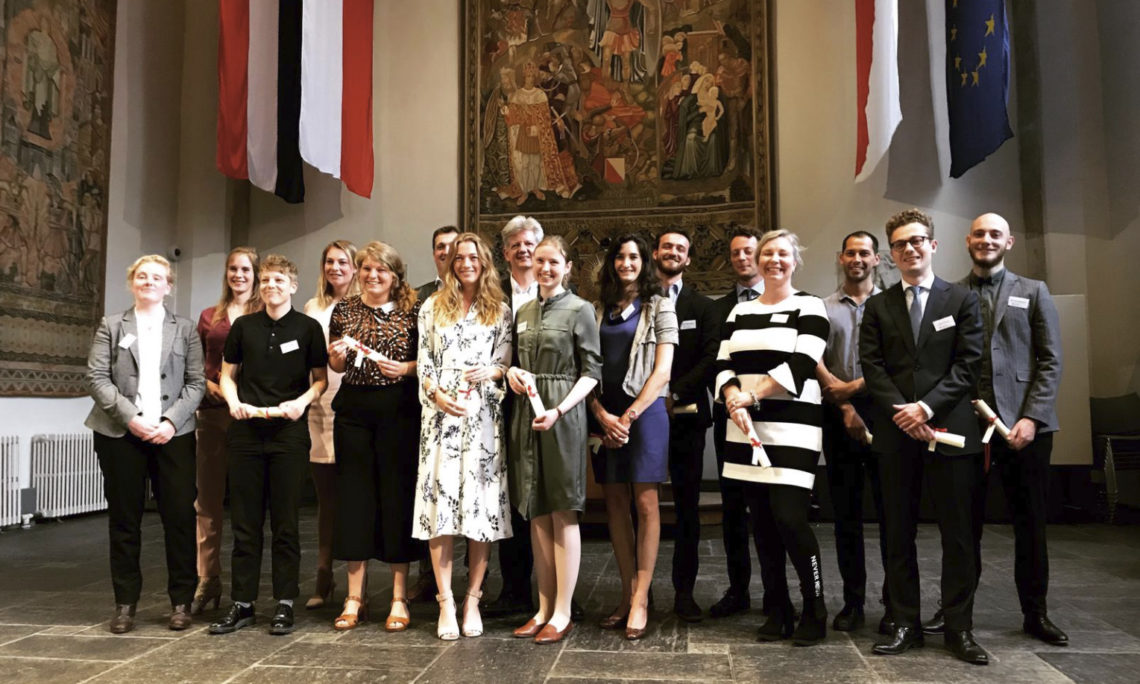 The 2019-2020 cohort of Dutch Fulbrighters