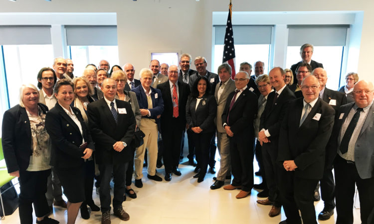 50PLUS visits the U.S. Embassy in Wassenaar
